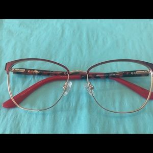 Guess 2699 Red/Gold #071 54/15 Eyeglass  Frame